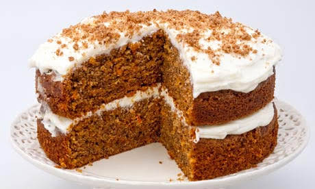 Guilt Free Desserts Carrot Cake Gluten Free, Sugar Free, Paleo and Low Carb
