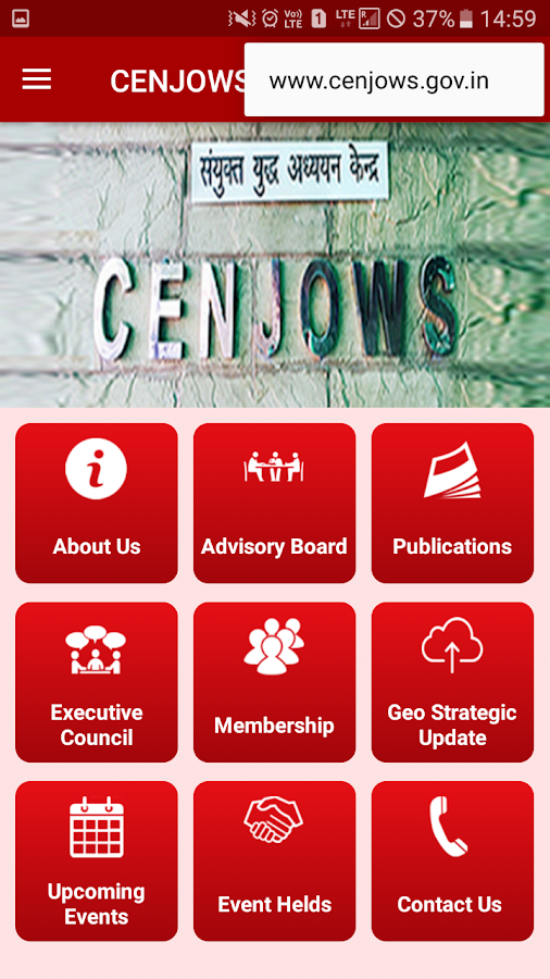 CENJOWS- screenshot