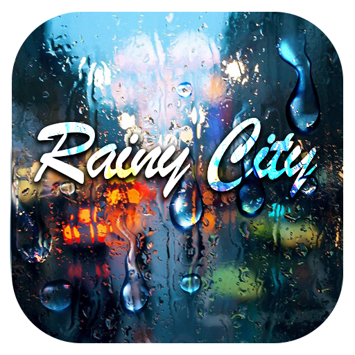 Rainy City Keyboard Theme