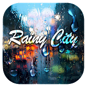 Rainy City Keyboard Theme