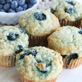Banana Blueberry Oat Muffins Recipe