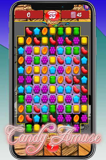 Candy Amuse - Match 3 Game android2mod screenshots 5