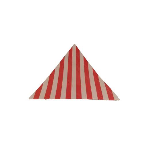 banderines rojo rayas para decorar