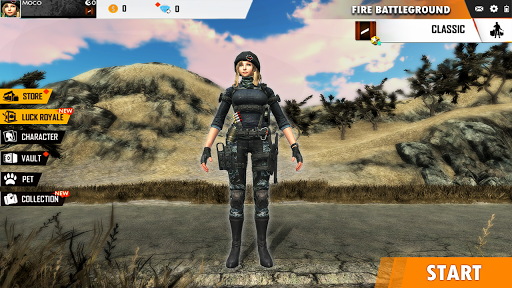 Fire Free Battleground Survival Hopeless Squad screenshot 1