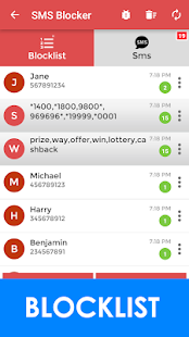VBlocker SMS Blocker Block SMS- screenshot thumbnail