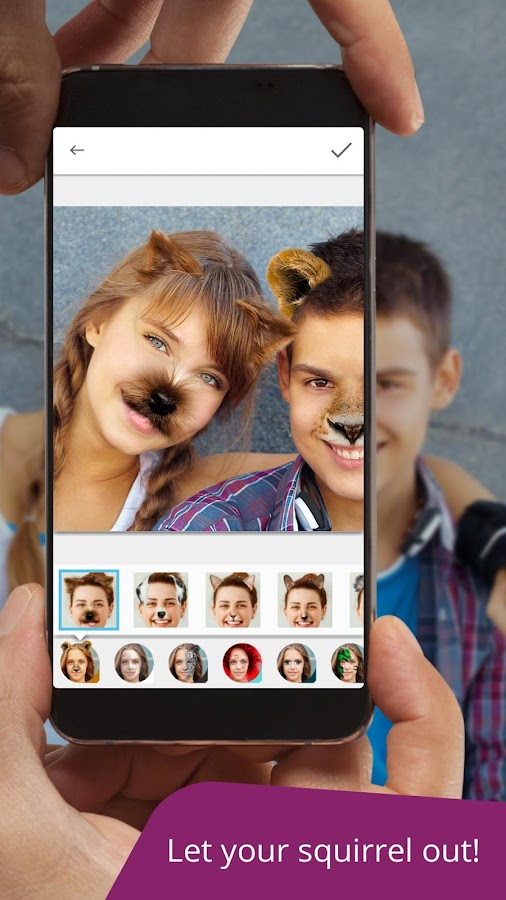 Avatars+: photo editing app & funny face changer- screenshot