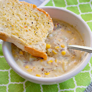 Creamy Chicken and Corn Chowder Soup