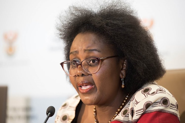 Mmamoloko Kubayi, Minister of Communications. Picture: NTSWE MOKOENA