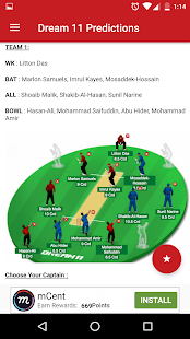 Predictions Dream11 Pro Tips - náhled