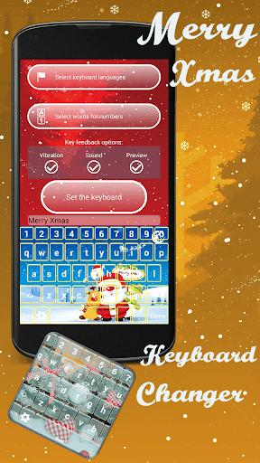 クリスマスキーボードチェンジャー
