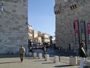 Photo: The Jaffa Gate into the Old City of Jerusalem