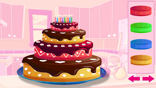ハッピーバースデーケーキを作ります