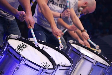 Drum Set with drum Sticks - náhled
