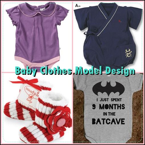 Baby Clothes Model Design