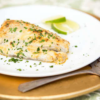 Quick and Easy Broiled Bluefish Fillets With Lime Aioli.