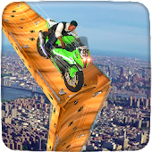 Mega Ramp Bike Racing Impossible Stunt Simulator Android APK Download Free By ByblosApps