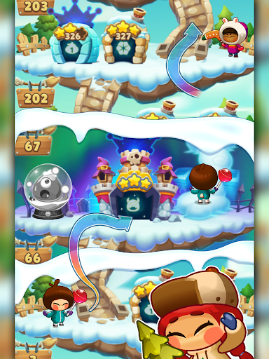 Monster Busters: Ice Slide screenshots 11