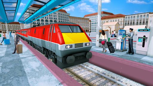 Modern Train Driving Simulator: City Train Games  screenshots 2