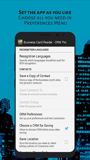 Business Card Reader - CRM Pro screen 2