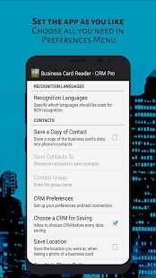 Business Card Reader - CRM Pro- screenshot thumbnail