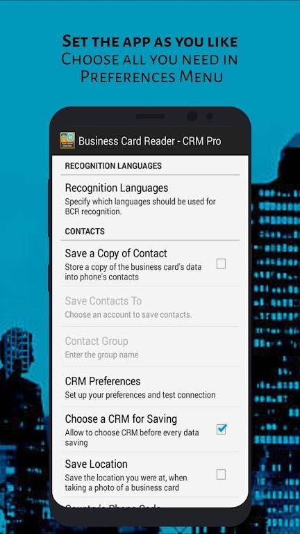 Business Card Reader - CRM Pro poster 2