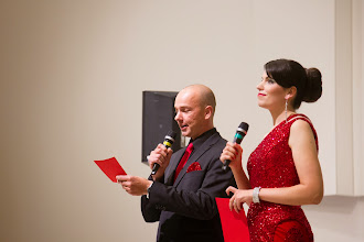 Photo: Illan juontajapari Jere Lepola ja Vilja Pylsy kiittivät ja toivottivat hyvää illanjatkoa.