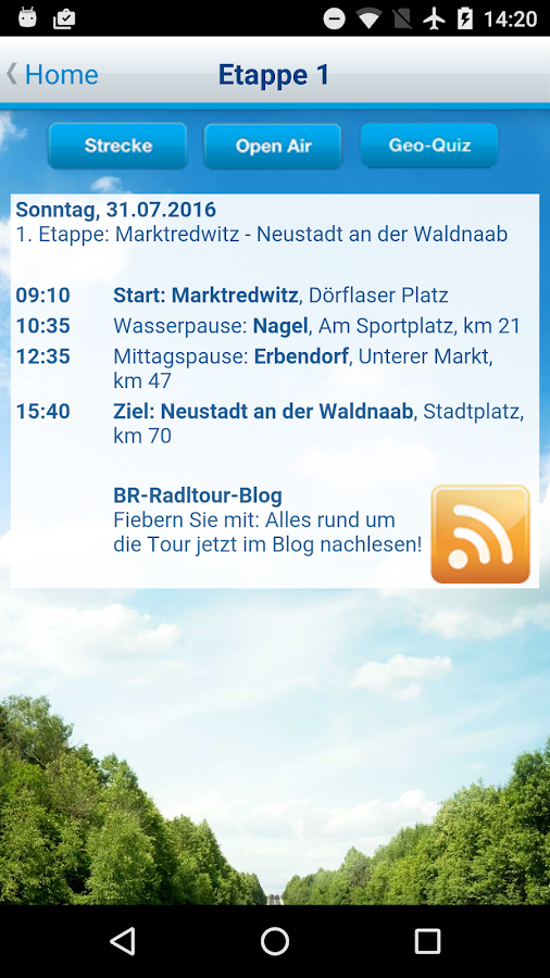 BR-Radltour - Guide zum Event- screenshot