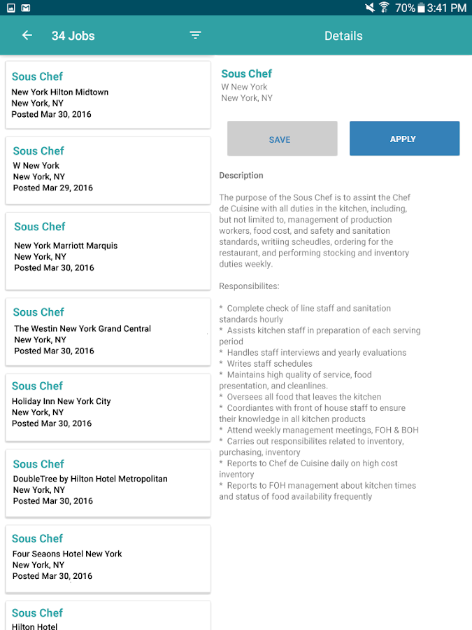 Hcareers Job Search- screenshot
