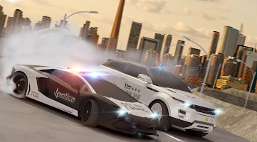 Police Car Drift Driving Simulator