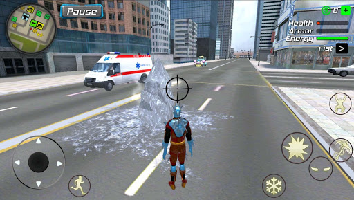 Snow Storm Superhero apktram screenshots 2