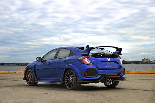 Honda Civic Type R has just the right combination of exquisite handling and a fiery turbocharged VTEC motor.
