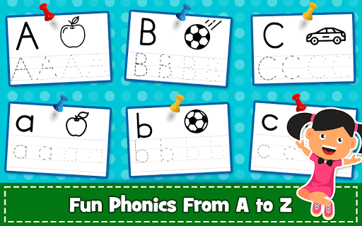 ABC PreSchool Kids Tracing & Phonics Learning Game filehippodl screenshot 3