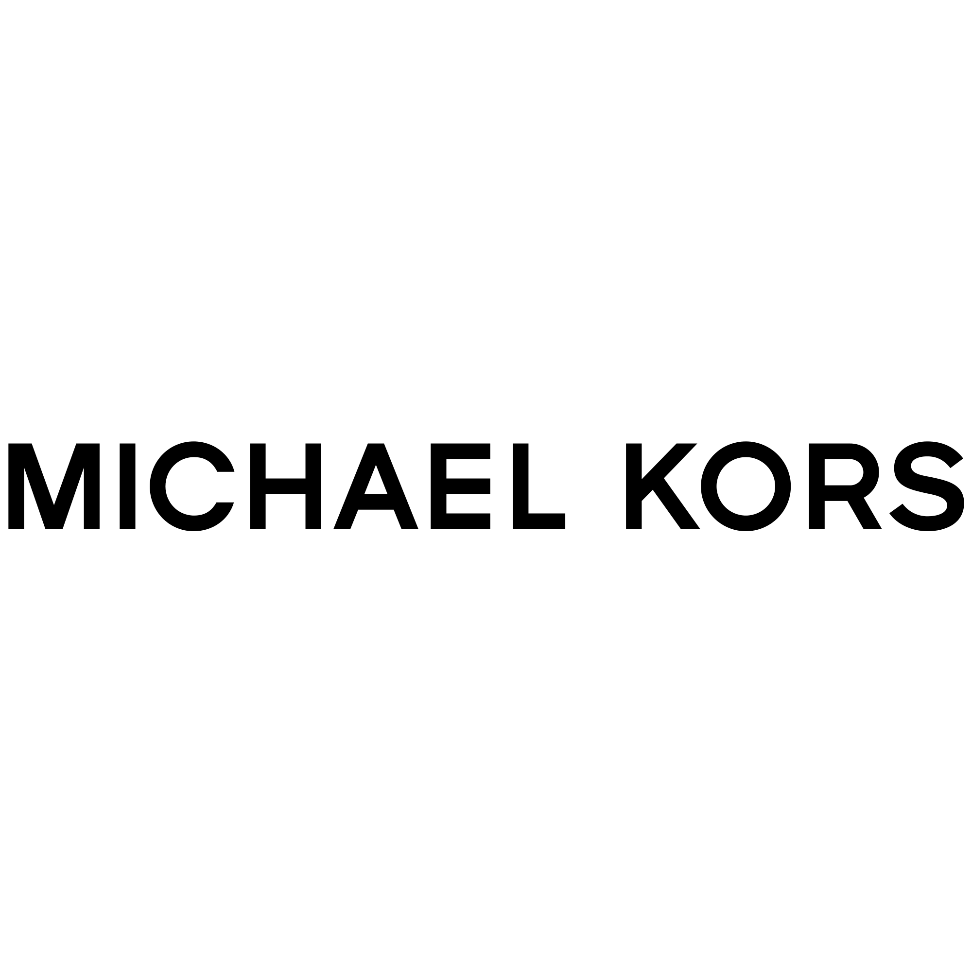 Michael Kors Logo Black Transparent