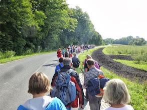 Photo: Weiter gehts am Ortsende von Niederhollabrunn schon dem Ziel in etwa 5243m entgegen