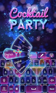 Cocktail-Party-Go-Keyboard 2