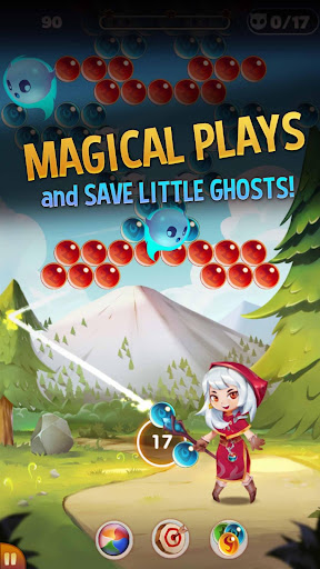 Bubble Shooter: Witch Story apkpoly screenshots 4