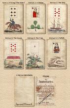 Photo: 1863 Die Zauberkarten der Mademoiselle Le Normand - kézzel színezett 3. utánnyomás
