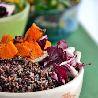 Red Quinoa Buddha Bowl