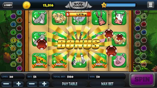 Royal Buffalo Casino Slots - náhled