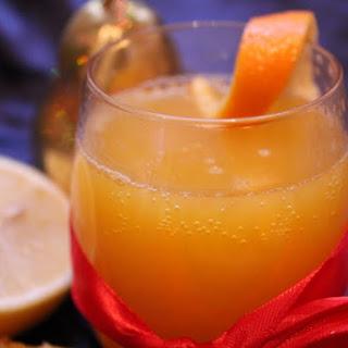 Non-Alcoholic Marmalade Fizz.