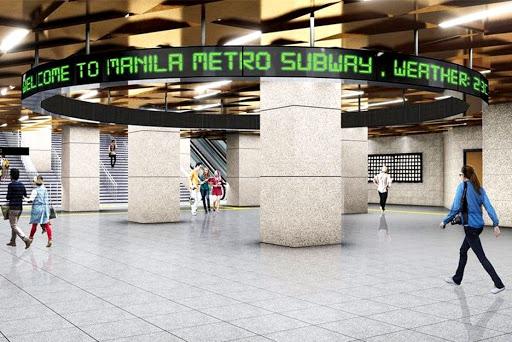 Welcome to Metro Manila Subway