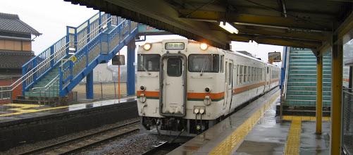 Photo: 2014/03/13 921D列車 田丸駅