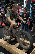 Photo: Attended Interbike in Las Vegas, the Bike Industry's biggest trade show.