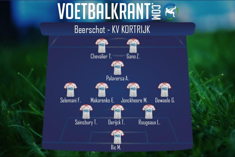 KV Kortrijk (Beerschot - KV Kortrijk)