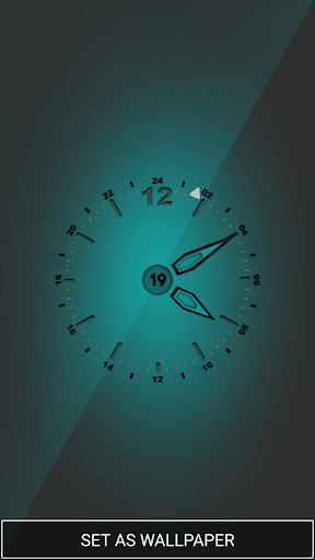 Current Time Clock Wallpaper App Apk Free Download For
