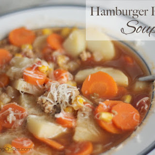Hamburger Harvest Soup.
