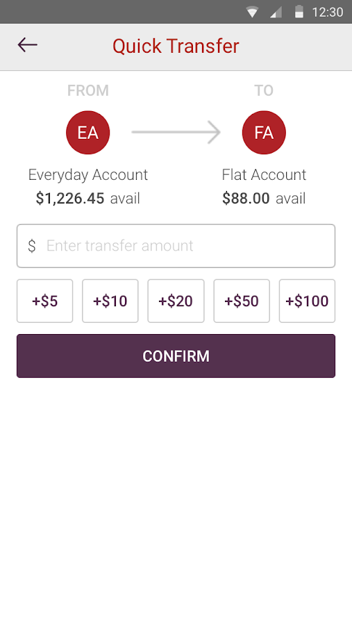 Westpac One Mobile Banking- screenshot
