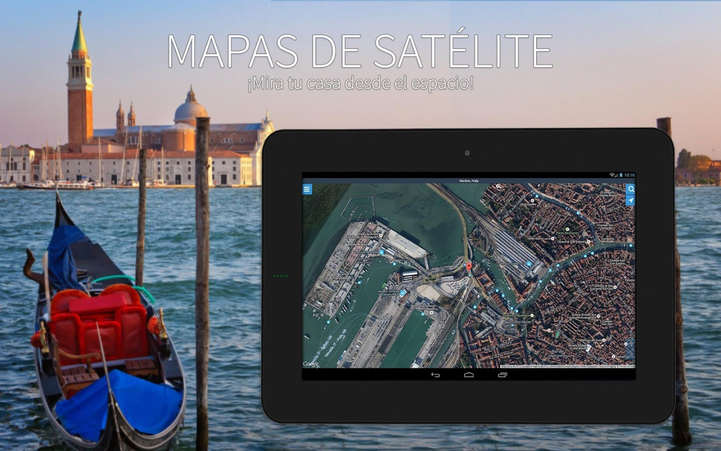 Maps : Navigation & GPS: captura de pantalla
