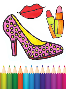 Beauty Coloring Pages - náhled