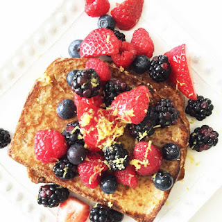 Skinny Vanilla French Toast
